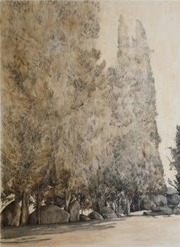 """הדר גד, 2008, שמן על בד, 160x120 ס""""מ"""