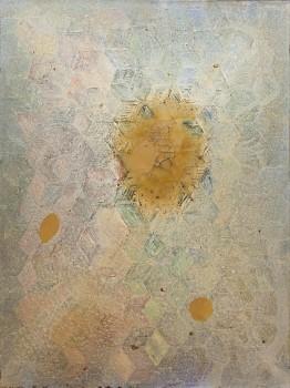"""עדו בר-אל, 1998, שמן ווקס על נייר, 80x60 ס""""מ"""