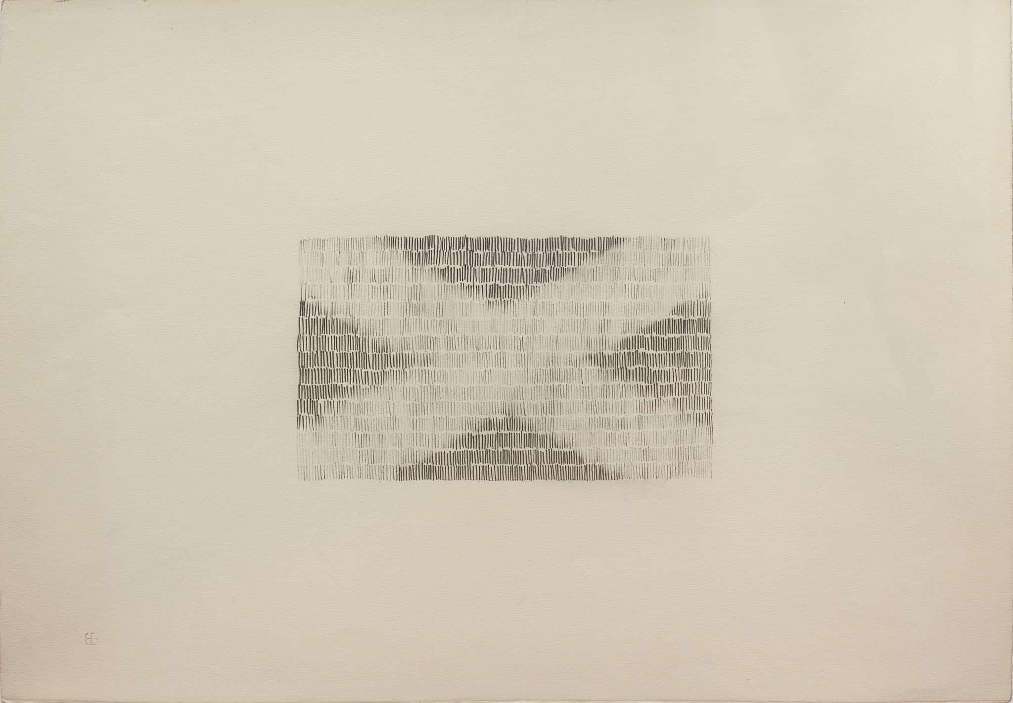 """בני אפרת, עיפרון על נייר, 49x34 ס""""מ"""