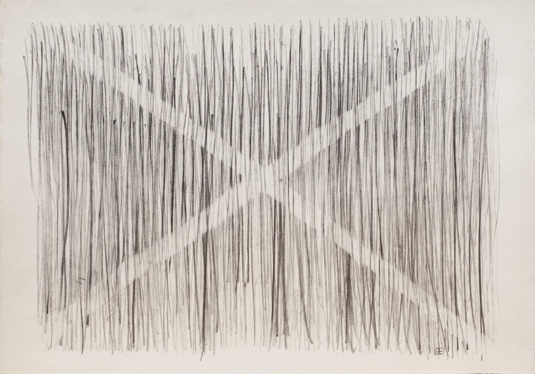 """בני אפרת, עיפרון על נייר, 40x28 ס""""מ"""
