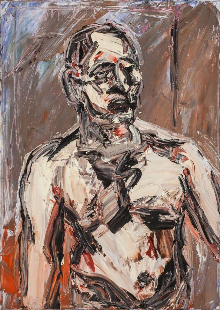 """אלכס קרמר, """"דיוקן"""", 2010, שמן על בד, 50x70 ס""""מ"""