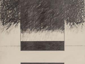 """אברהם אילת, עיפרון על נייר, 38x50 ס""""מ"""