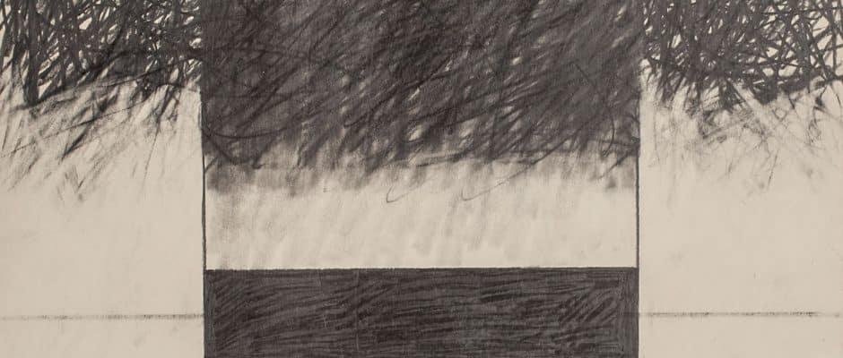 אברהם אילת, עיפרון על נייר, 38x50 ס