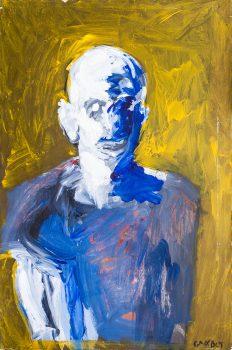 """אהוד גרבלי, שמן על בד, 60x92 ס""""מ"""