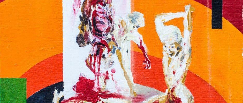 אהוד גרבלי, שמן על בד, 70x94 ס