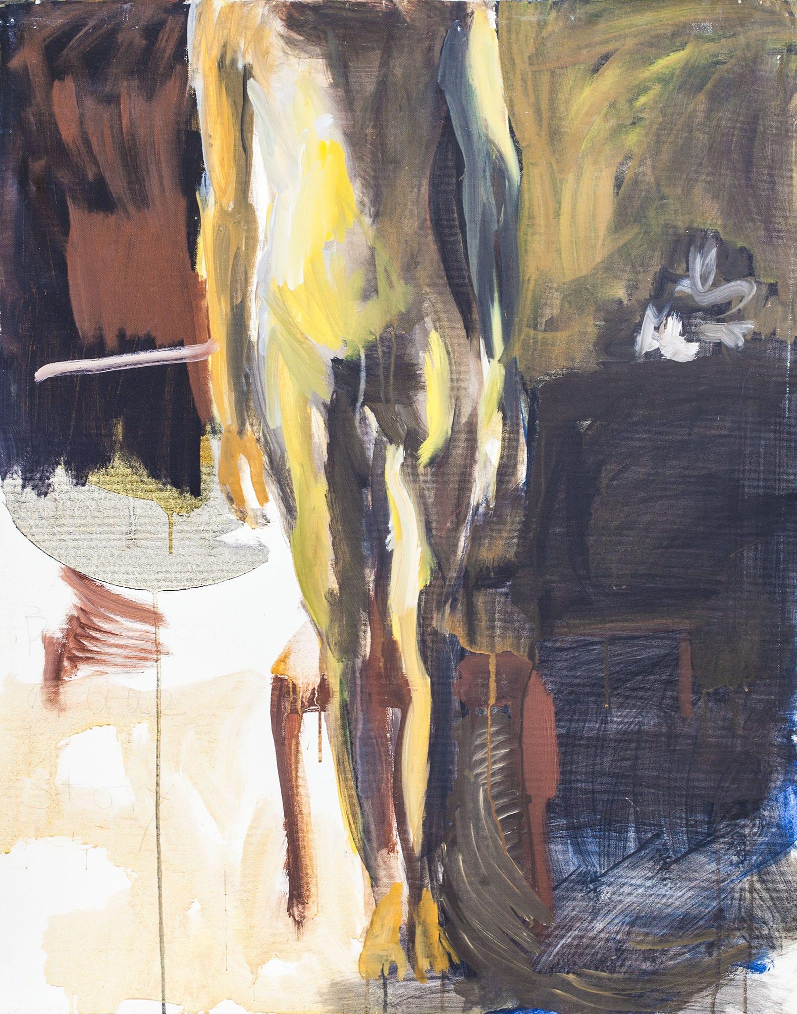 """אהוד גרבלי, שמן על בד, 82x92 ס""""מ"""