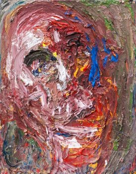 """אהוד גרבלי, שמן על בד, 36x45 ס""""מ"""