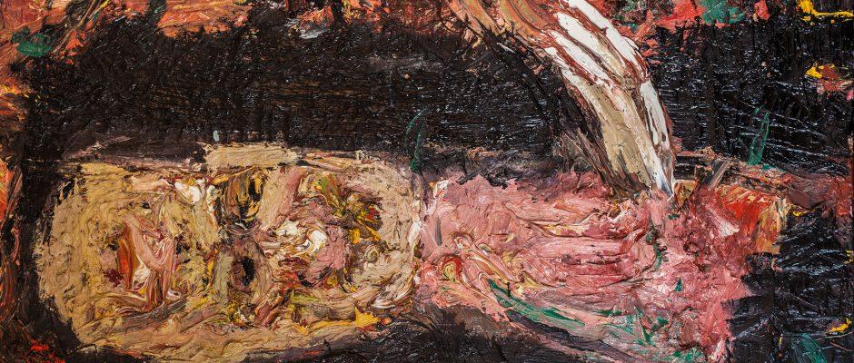 מריק לכנר, 2012, שמן על בד, 76x95 ס