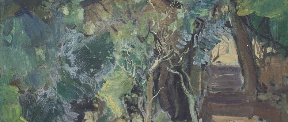 שאול ויקטור, שמן על בד, 50x70 ס